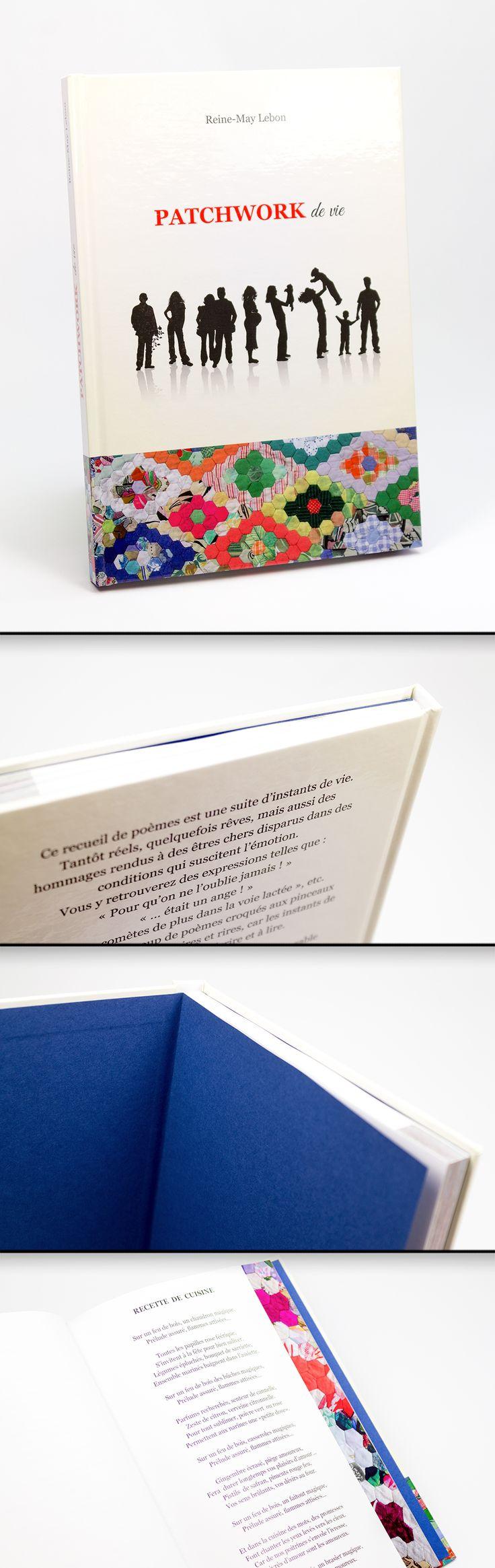 Livre contrecollé en 15,4x22,1cm / Couverture quadri sur papier Couché Satiné 150gr + pelliculage Brillant sur carton 20/10ème / Intérieur quadri sur Couché Satiné 150gr #hardcover #HPIndigo