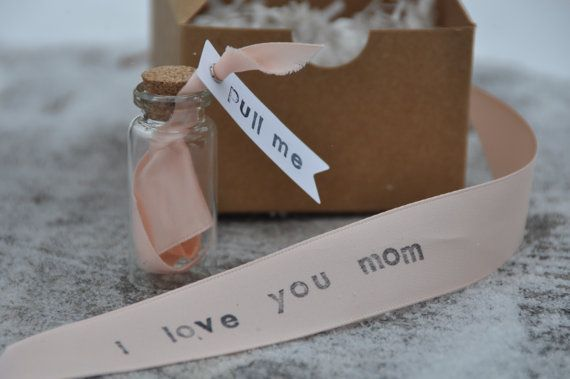 Mother of the bride gift mother of the groom gift thank you gift personalized wedding gift mothers day gift message in a bottle gift for mom