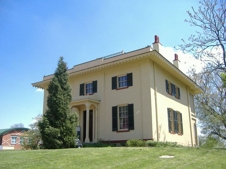 William howard taft home in cincinnati ohio house where for Presidents and their home states