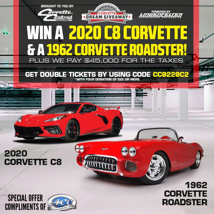 The 2020 Corvette Dream Giveaway has launched! Enter now