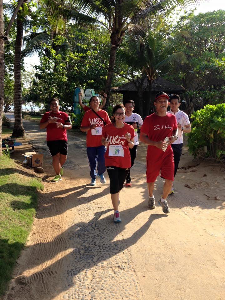 Here is our 1st Annual Marriott Takecare Virtual 5K race  #CourtyardNusaDua #CourtyardBali #Marriott #TakeCare5k #Bali