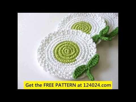 crochet coasters patterns - http://www.knittingstory.eu/crochet-coasters-patterns/
