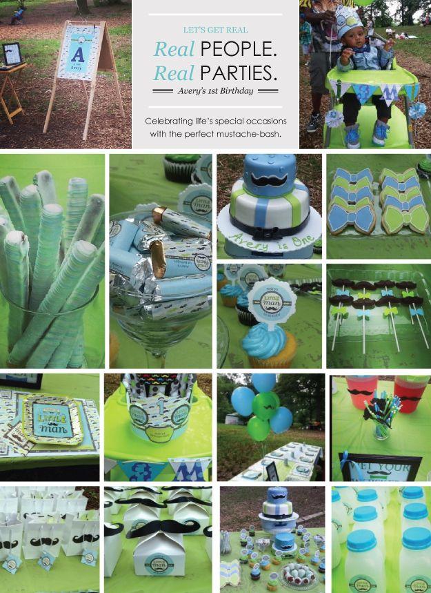 Dashing Little Man Birthday Party Ideas #BigDot #HappyDot