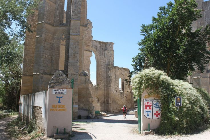 Hospital de peregrinos del Convento de San Antón, Castrojeriz, Burgos :: Albergues del Camino de Santiago