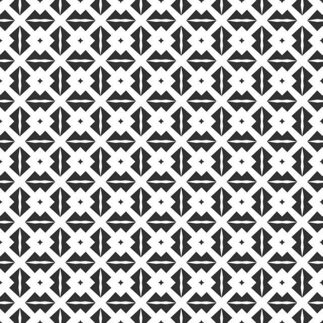 الخلاصة الهندسية نمط سلس تكرار هندسي أبيض وأسود نسيج Geometric Pattern Graphic Design Brochure Seamless Patterns