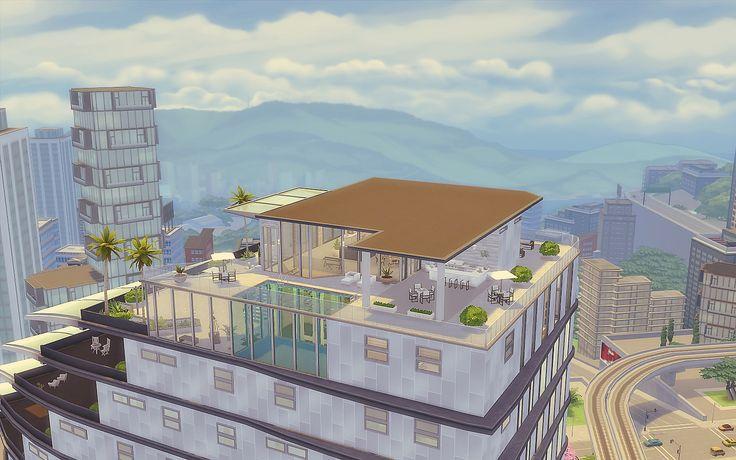 House The Sims 4 - Download - Vida na Cidade - Cobertura