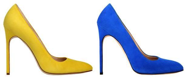Цветные туфли спб
