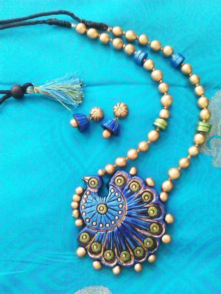 terracotta jewellery - Google Search