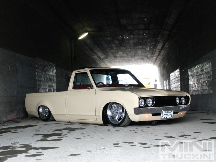 '77 Datsun 620..dream mini right there