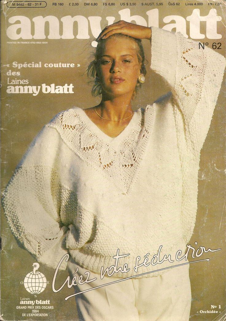 MAGAZINE ANNY BLATT N°62 SPECIAL COUTURE : Autres Tricot et Crochet par…