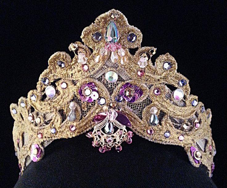 Ballet headpieces for: Diana and Actaeon, La Esmeralda, Princesses. $54.95, via Etsy.