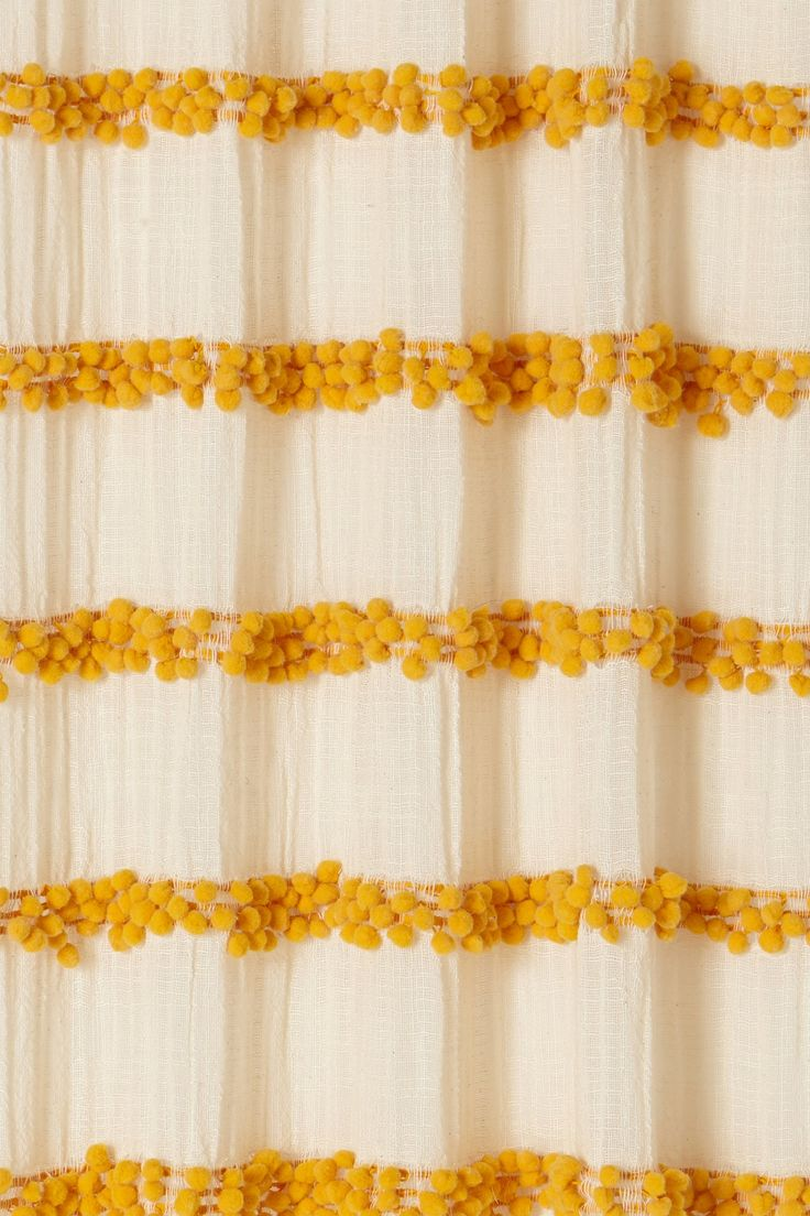 Yellow stripe shower curtain - I Love Yellow Right Now Swing Stripes Curtain
