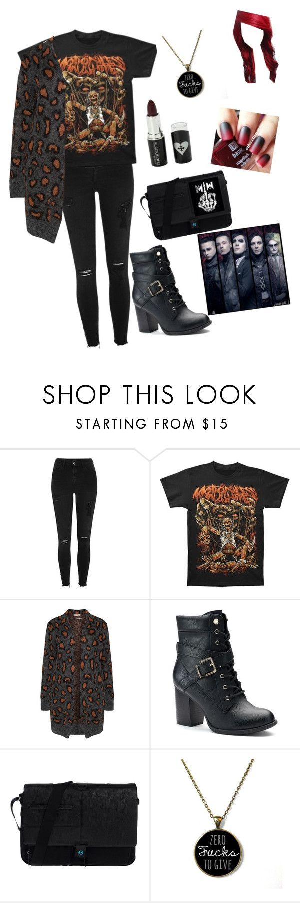"""""""Motionless"""" by eannamc2001 ❤ liked on Polyvore featuring River Island, Open End, Apt. 9, Piquadro and Voom"""