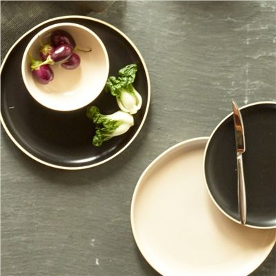 Chason Stoneware Dinnerware Collection (491578970), Stoneware Dinnerware Sets, Wooden Bowls & More | bambeco