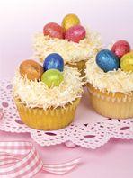 Coconut and Vanilla Cupcakes