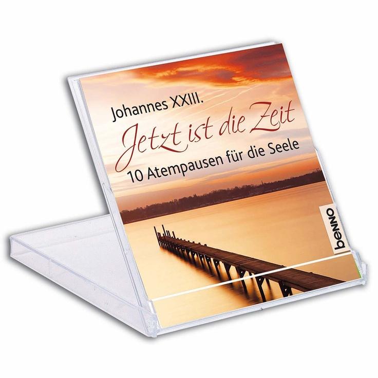 Aufsteller mit #Impulsen von #Papst Johannes XXIII. - #Minibuch im praktischen 2er-#Set mit praktischem Begleitbuch