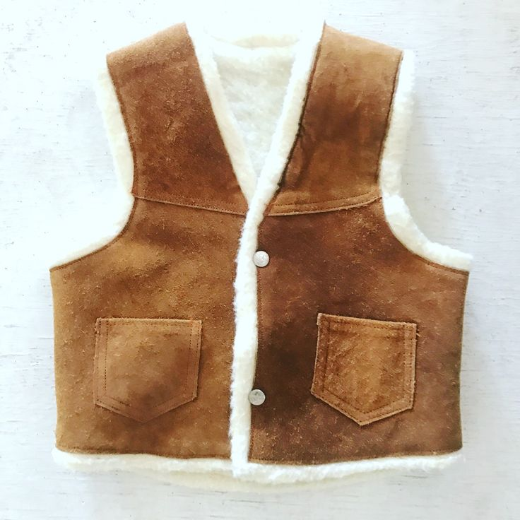 Get this awesome #vintage #vest for your kiddo today on #etsy free shipping