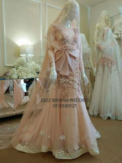 Regardless of religion and the headdress, these are gorgeous dresses.   More I like better   than this one on the website.