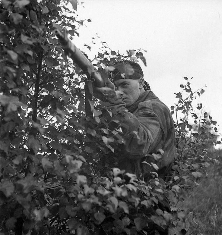 Canadian Sniper, Belgium 1944