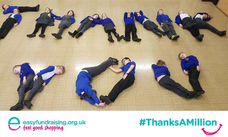 """#ThanksAMillion from St Barnabas Primary School, Barnetby . Thank You to everyone for using easyfundraising and helping support our school!! All donations help and make a huge difference for all children throughout their time at school "" #Fundraising #Giving #Charity"