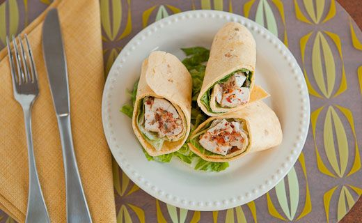 Epicure's Grilled Montreal Chicken Wraps