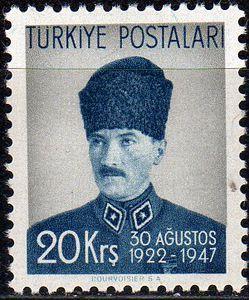 1947 Kemal Ataturk, General