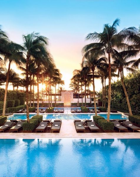 The Best Hotel Pools In Miami