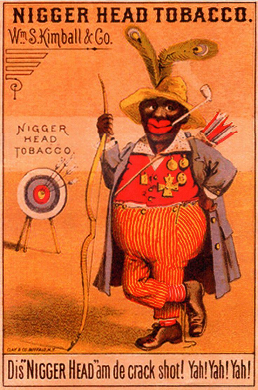 Racist Advertising | Keywords: Male, African American, Racist