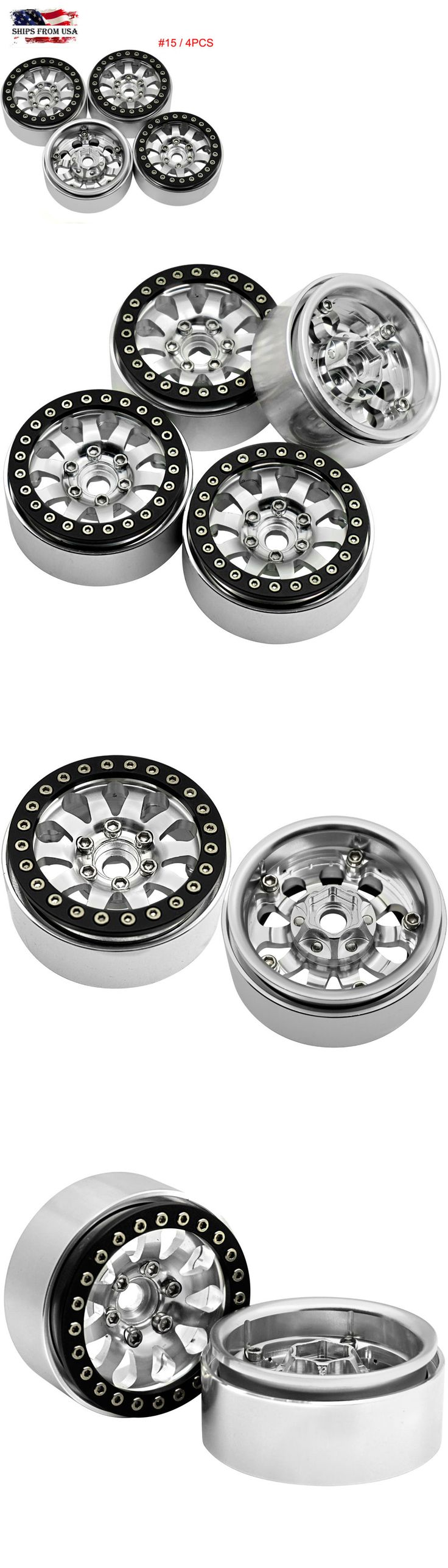 Wheels Tires Rims and Hubs 182201: 4Pcs 1.9 Alloy Beadlock Wheel Rim For Scx10 Cc01 F350 D90 Rc4wd 1 10 Rc Crawler -> BUY IT NOW ONLY: $49 on eBay!