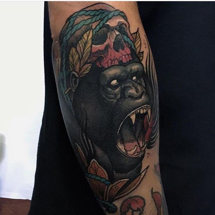 Tattoo de @andresinkman con material @barber_dts @barberdts.spain. Para citas / for bookings info@goldstreetbcn.com #tattoo #goldstreettattoo #barcelona