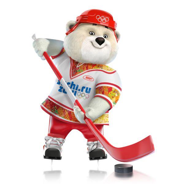 2014 Russia | Olympic Mascots Silvia Petrova, Vadim Pak, Oleg Serdechny \ Character sochi polar bear
