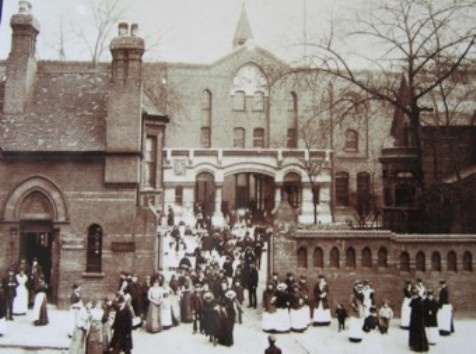 The Bryant & May Match Factory, Bow, East London was set up by William Bryant and Francis May in 1861.