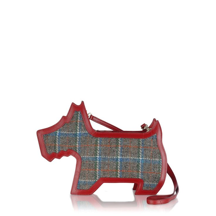 Our Radley Scottie dog shaped bag features  Harris Tweed. Will you be popping this at the top of your wishlist this Christmas?