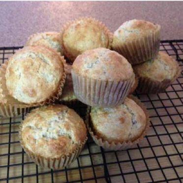Muffins banane-avoine - société diabète