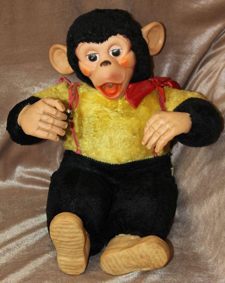 Vintage plush chimpanzee