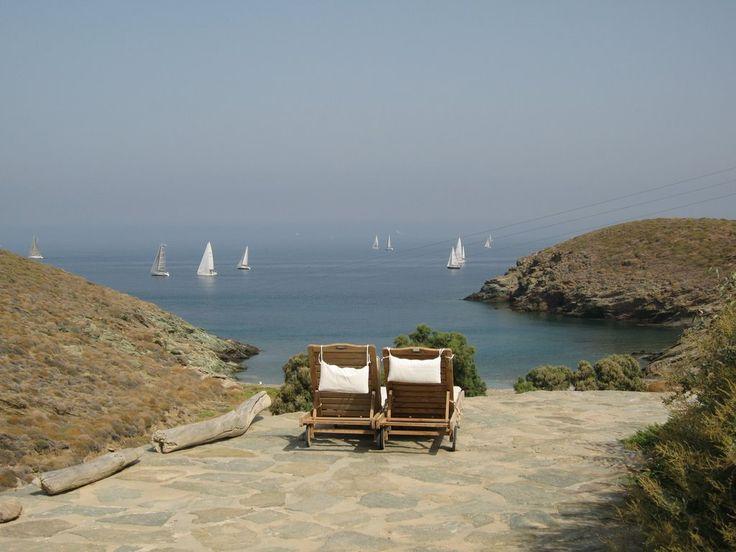 sailing in Kea