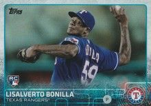 2015 Topps Baseball Rainbow #691 Lisalverto Bonilla - Texas Rangers RC