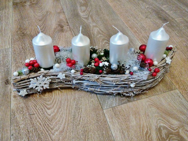 Vánoční adventní svícen