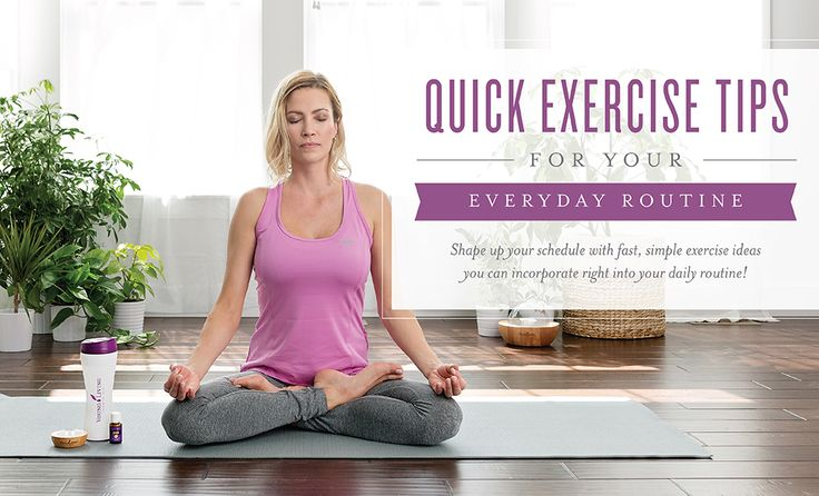 Work, household chores, errands, playtime, dinner, laundry—with so many things to do and not many hours in the day, finding time to exercise is difficult. To help you fit in the physical activity your body craves, we've rounded up some simple, quick workout routines you can fit into your daily schedule. With these fast exercise ideas, you'll ...