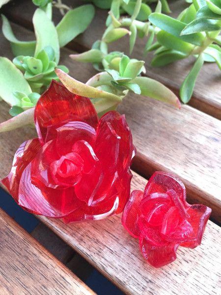 プラバンで作る☆立体 薔薇の花 - 暮らしニスタ