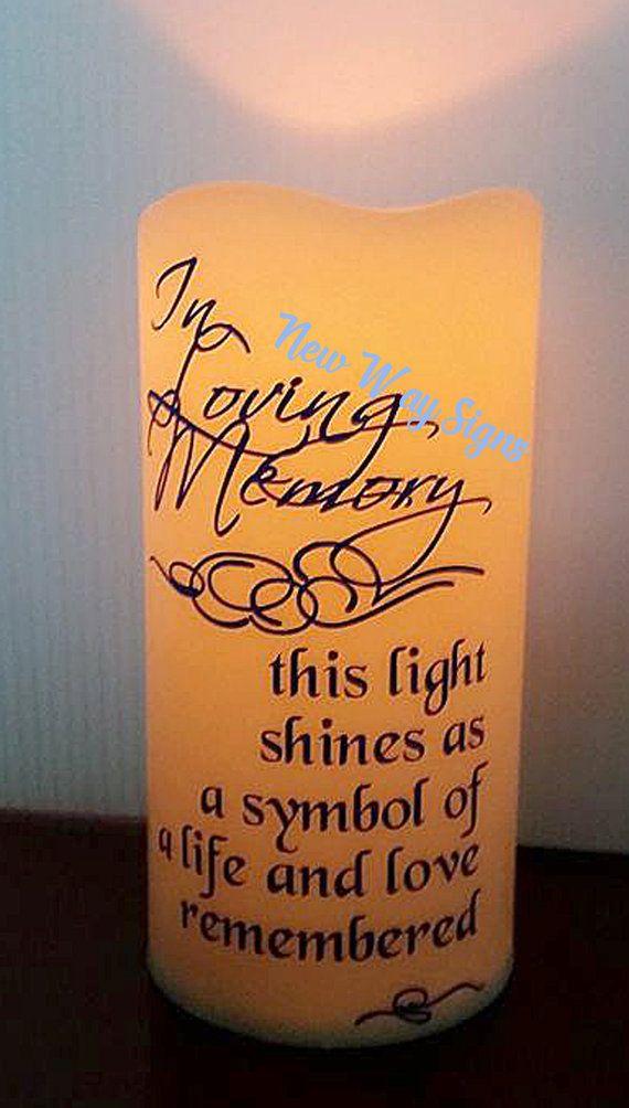 Best 25 Memory Candle Wedding Ideas On Pinterest