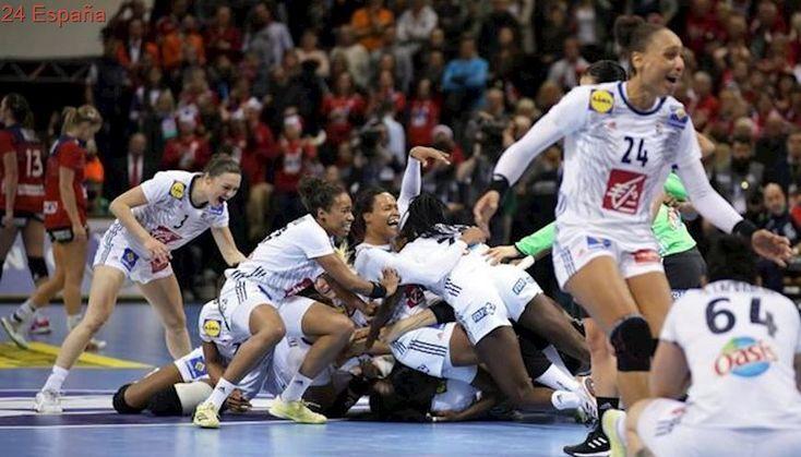 Francia destrona a Noruega en el balonmano femenino mundial