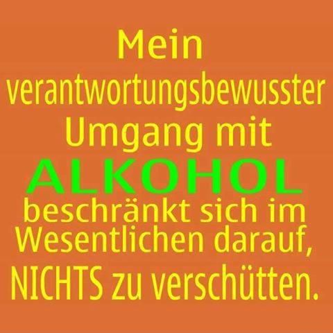 Verantwortungsbewusster Umgang mit Alkohol