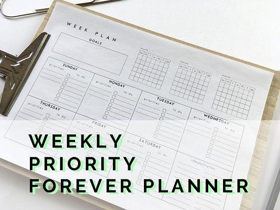 Más de 25 ideas increíbles sobre Agenda semanal imprimible en - agenda