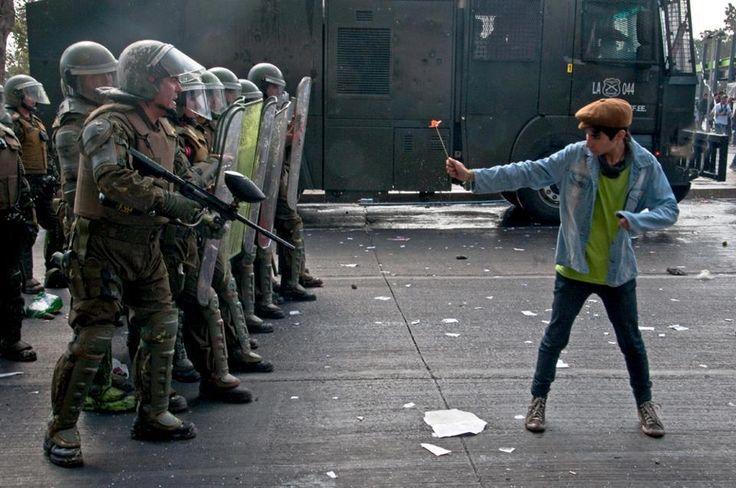 Expecto Patronum Santiago de Chile, abril de 2013, protestas estudiantiles