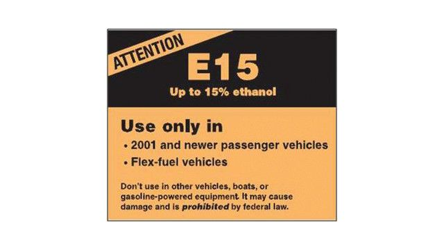 Take steps to protect small non-road engines from catastrophic damage due to higher ethanol content in gasoline.