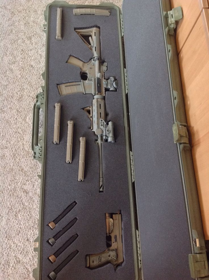 Sig sauer m400 enhanced. Sid sauer p226 scorpion. Pelican case