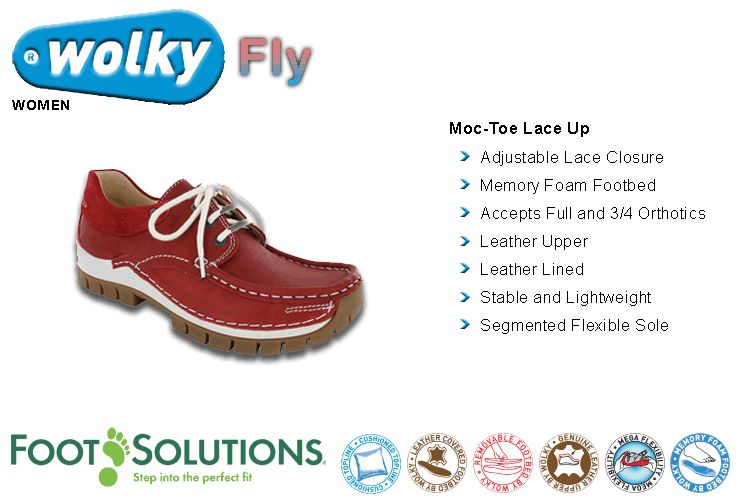 Wolky Fly - Women // Spring 2015
