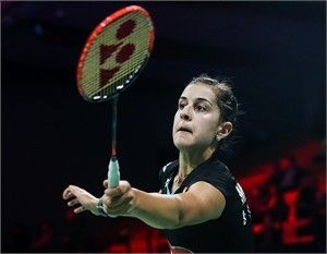 YONEX French Open 2015:  Carolina Marin (NANORAY Z-SPEED, SHB-02LX)