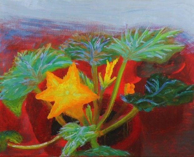 william nicholson flowers | Melon Flower by Winifred Nicholson